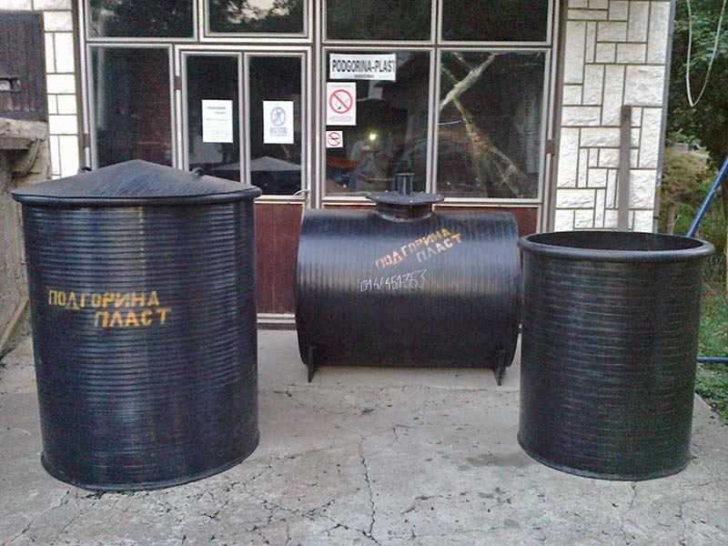 Plasticni rezervoari za navodnjavanje, prikolice i ostale svrhe
